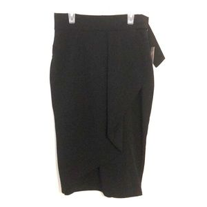 NWT Worthington stretch pencil skirt 4 black